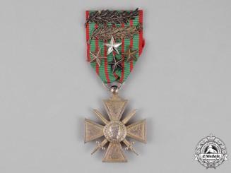 France, Republic. A Croix de Guerre,1914-1918 with Multiple Awards