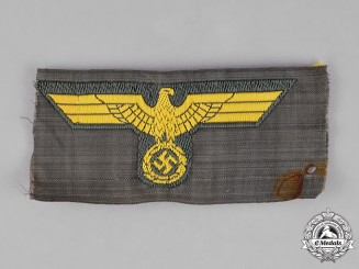 Germany. A Kriegsmarine Coastal Artillery EM/NCO's Overseas Cap Eagle