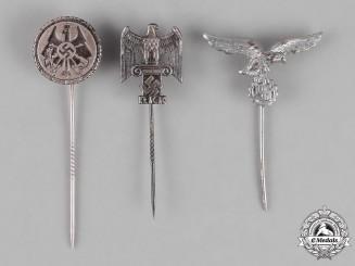 Germany. Three German Stick Pins