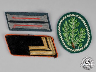Germany. Three Insignia