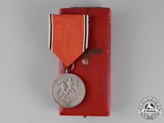 Germany. An Austrian Anschluss Medal in its Presentation Case of Issue, c. 1938
