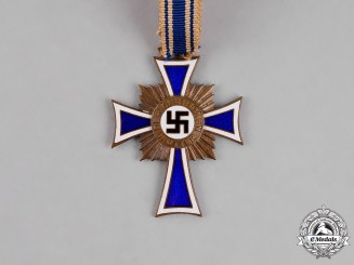Germany. A Cross of Honour of the German Mother, Bronze Grade