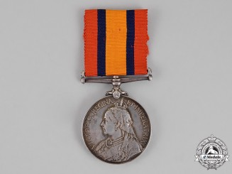 United Kingdom. A Queen's South Africa Medal 1899-1902, West Yorkshire Regiment
