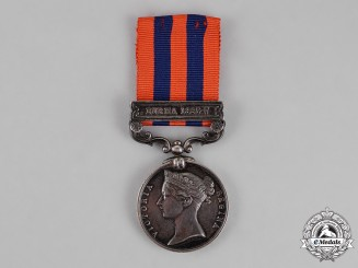 United Kingdom. An India General Service Medal 1854-1895, 2nd Battalion, Hampshire Regiment