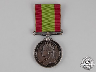 United Kingdom. An Afghanistan Medal 1878-1880, 81st Regiment of Foot (Loyal Lincoln Volunteers)