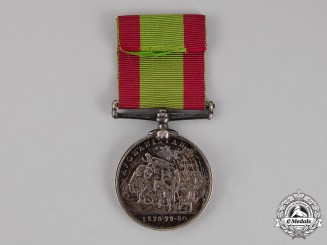 United Kingdom. An Afghanistan Medal 1878-1880, 81st Regiment of Foot (Loyal Lincoln Volunteers)