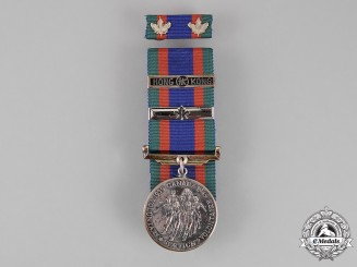 Canada. A Canadian Volunteer Service Medal with Hong Kong Clasp