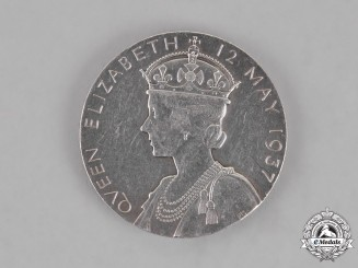 United Kingdom. A King George VI and Queen Mary Commemorative Medal 1937