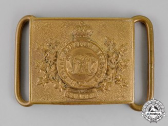 Canada. A Victorian Royal Canadian Dragoons Belt Buckle