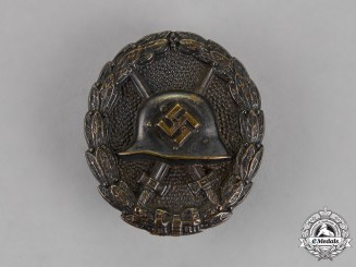 Germany. An Early Condor Legion Wound Badge, Black Grade