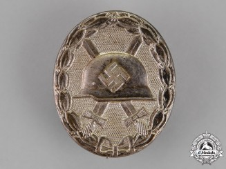 Germany. A Wound Badge, Silver Grade, Early Type