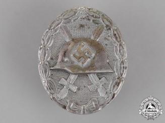 Germany. A Wound Badge, Silver Grade, by Schauerte & Höfeld of Lüdenscheid