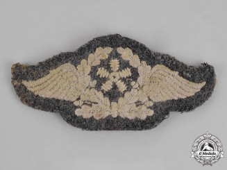 Germany. A Luftwaffe Technical Staff Trade Sleeve Insignia