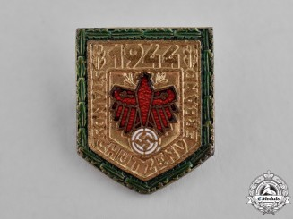 Tyrol, State. A 1944 Shooting Association Marksmanship Award