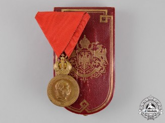 Austria, Empire. A Military Merit Medal, Bronze Grade