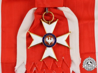 Poland, Republic. An Order of Polonia Restituta, Grand Cross Badge, c.1935