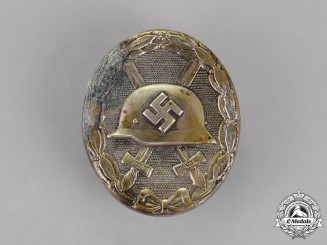 Germany, Third Reich. A Wound Badge, Silver Grade, Hollow Type