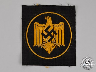 Germany. A DRL (German League of the Reich for Physical Exercise) Proficiency Badge in Cloth