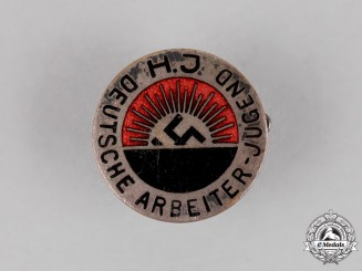 Germany. A HJ National Socialist Worker's Youth Organization Membership Badge