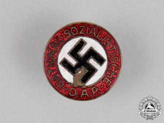 Germany. A NSDAP National Socialist German Worker's Party Membership Badge