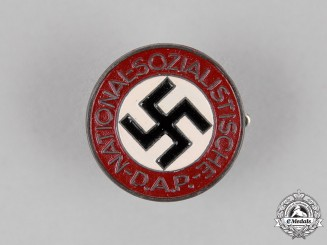 Germany. A NSDAP National Socialist German Worker's Party Membership Badge