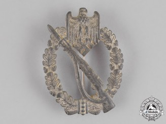 Germany. An Infantry Assault Badge, Silver Grade, by Julius Bauer & Co.