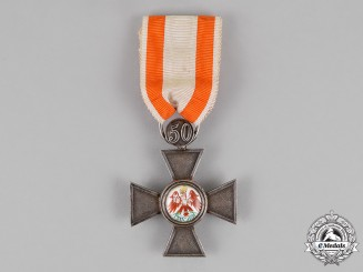 "Prussia. An Order of the Red Eagle, Fourth Class, with Anniversary Number ""50"", by J. Wagner & Sohn"