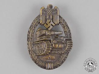 Germany. A Tank Badge, Bronze Grade, by Ferdinand Wiedmann