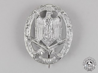 Germany. A General Assault Badge, by F. W. Assmann & Söhne of Lüdenscheid