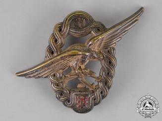 Croatia. An Early Second War Croatian Observer & Navigator Badge