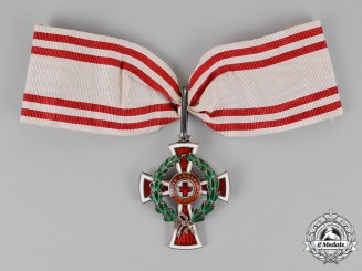 Austria, Empire. An Austrian Red Cross Decoration, I Class, by Scheid