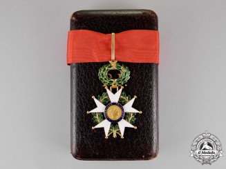 France, Third Republic. A Legion D'Honneur in Gold, Commander, c.1919