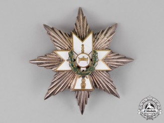 Croatia. An Order of King Zvonimir's Crown, First Class Star