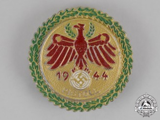 Germany. A 1944 Tirol Pistol Shooting Competition Badge