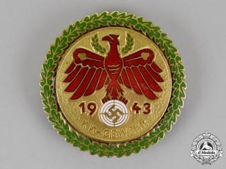 Germany.  A 1943 Tirol Shooting Association KK-Gewehr Master Shooting Award