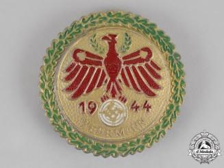 "Austria. A Tirol ""Wehrmann"" Marksmanship Competition Award, c. 1944"