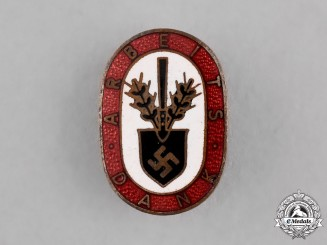 Germany. A RAD Worker's Aid Appreciation Badge