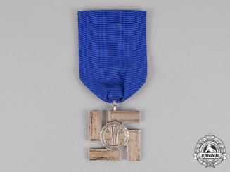 Germany. A Waffen-SS 25-Year Long Service Medal