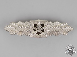 Germany. A Silver Grade Close Combat Clasp by Funcke & Brüninghaus of Lüdenscheid