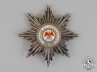 Prussia. An Order of the Red Eagle, First Class Star, c.1900