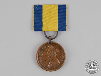Duchy of Brunswick. A Waterloo Medal, Hussars Regiment, 1815