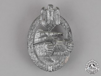 Germany. A Tank Badge, Silver Grade, by Hermann Aurich