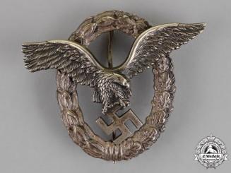 Germany. A Luftwaffe Pilot's Badge, Gebrüder Schneider