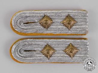 Germany. A Set of Luftwaffe Flyer's Hauptmann Shoulder Boards, Slip-On Type
