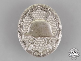 Germany. A Wound Badge, Silver Grade, Alternative 1957 Version