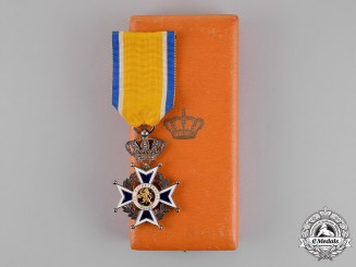 Netherlands, Kingdom. An Order of Orange Nassau, Knight, Civil Division, c.1920