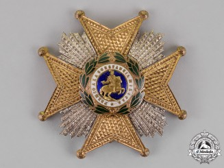 Spain, Kingdom. A Royal and Military Order of Saint Hermenegildo, 2nd Class Cross, c. 1920