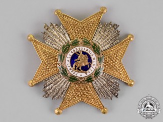 Spain, Kingdom. A Royal and Military Order of Saint Hermenegildo, 2nd Class Cross, c. 1930