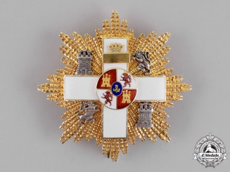 Spain, Franco Period. An Order of Military Merit, White Distinction, 3rd Class Cross