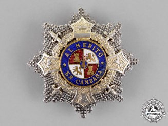 Spain, Franco Period. A War Cross Breast Star, c. 1940
